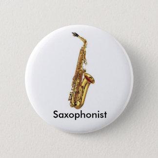 Bóton Redondo 5.08cm Botão do saxofone