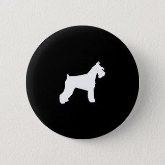 Bóton Redondo 5.08cm Botão do Schnauzer - botão do pinback