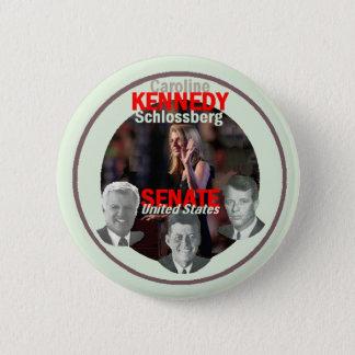 Bóton Redondo 5.08cm Botão do Senado de KENNEDY