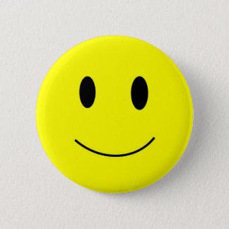 Bóton Redondo 5.08cm Botão do smiley