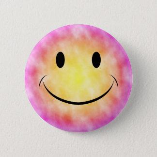 Bóton Redondo 5.08cm Botão do smiley da tintura do laço