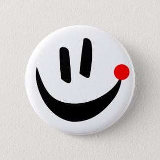 Bóton Redondo 5.08cm Botão do sorriso de Loka Nota