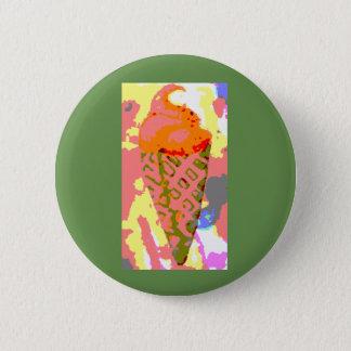 Bóton Redondo 5.08cm Botão do sorvete