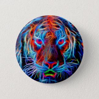 Bóton Redondo 5.08cm Botão do tigre