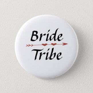 Bóton Redondo 5.08cm Botão do tribo da noiva