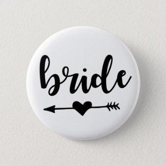 Bóton Redondo 5.08cm Botão do tribo da noiva para a noiva