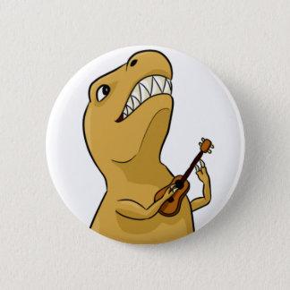 Bóton Redondo 5.08cm Botão do Ukulele de T-Rex