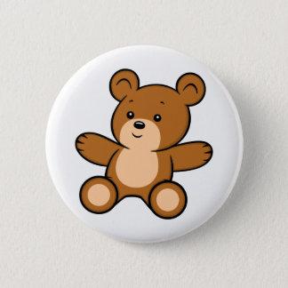 Bóton Redondo 5.08cm Botão do urso de ursinho dos desenhos animados