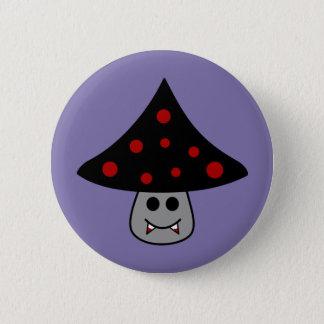 Bóton Redondo 5.08cm Botão do vampiro do cogumelo