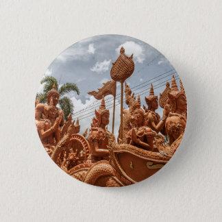 Bóton Redondo 5.08cm Botão do viagem do festival da vela de Ubon