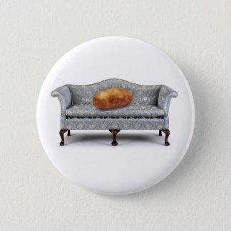 Bóton Redondo 5.08cm Botão do viciado em televisão