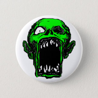 Bóton Redondo 5.08cm Botão do zombi