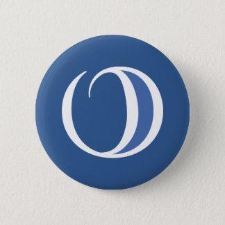 Bóton Redondo 5.08cm Botão/dom redondos do logotipo de Obernet