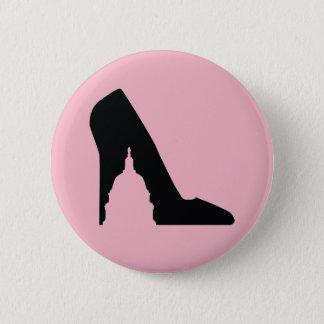 Bóton Redondo 5.08cm Botão dos calçados de SGP (rosa)