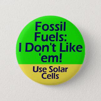 Bóton Redondo 5.08cm botão dos combustíveis fósseis