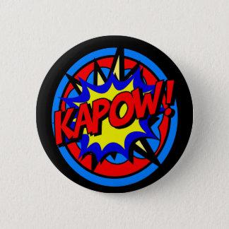 Bóton Redondo 5.08cm Botão dos desenhos animados do super-herói de