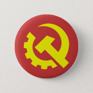 Bóton Redondo 5.08cm Botão dos EUA do partido comunista