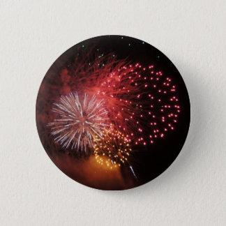 Bóton Redondo 5.08cm Botão dos fogos-de-artifício - fogos-de-artifício
