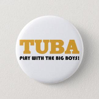 Bóton Redondo 5.08cm Botão engraçado das citações da tuba