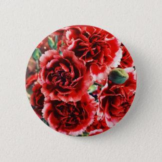 Bóton Redondo 5.08cm Botão floral do cravo