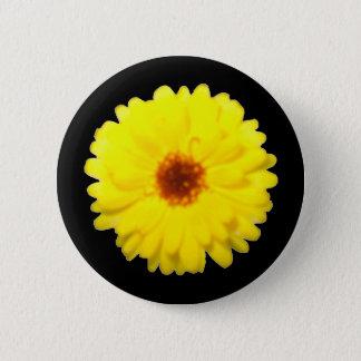 Bóton Redondo 5.08cm Botão fluorescente do cravo-de-defunto