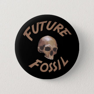Bóton Redondo 5.08cm Botão fóssil futuro