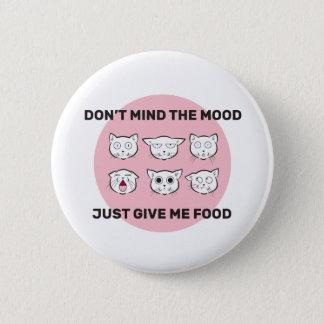 Bóton Redondo 5.08cm Botão ilustrado humor da comida