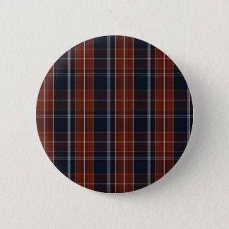 Bóton Redondo 5.08cm botão impresso da verificação azul