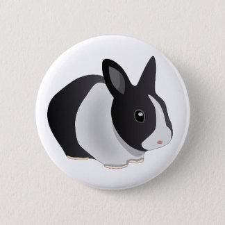 Bóton Redondo 5.08cm Botão inquisidor do coelho