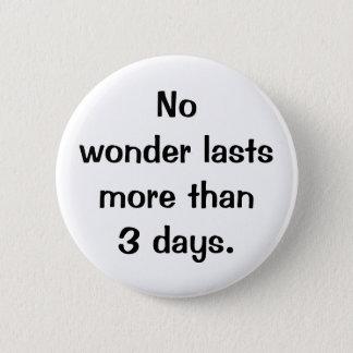 Bóton Redondo 5.08cm Botão italiano do provérbio No.121