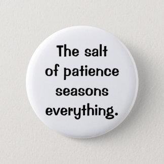 Bóton Redondo 5.08cm Botão italiano do provérbio No.173