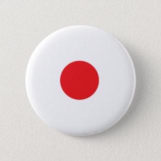 Bóton Redondo 5.08cm Botão japonês da bandeira