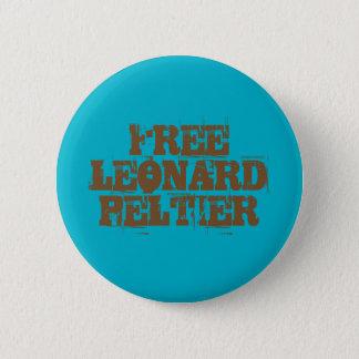 Bóton Redondo 5.08cm Botão livre de Leonard Peltier