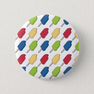 Bóton Redondo 5.08cm botão Multi-colorido do teste padrão do Popsicle