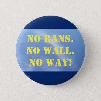 Bóton Redondo 5.08cm Botão: Nenhuma proibição