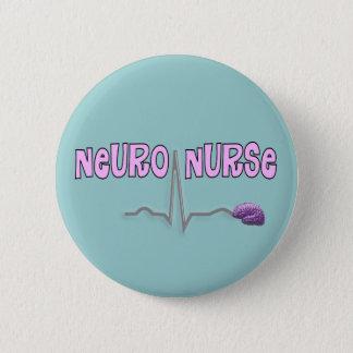 Bóton Redondo 5.08cm Botão Neuro da enfermeira