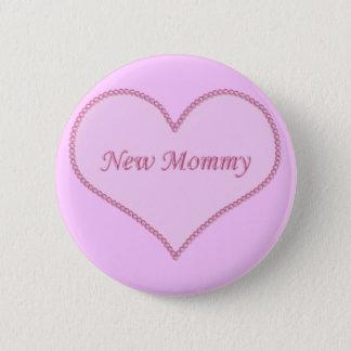 Bóton Redondo 5.08cm Botão novo das mamães, cor-de-rosa