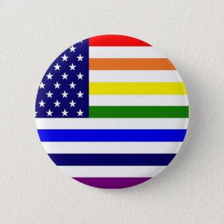 Bóton Redondo 5.08cm Botão novo do orgulho gay da glória