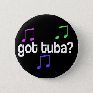 Bóton Redondo 5.08cm Botão obtido engraçado da música da tuba