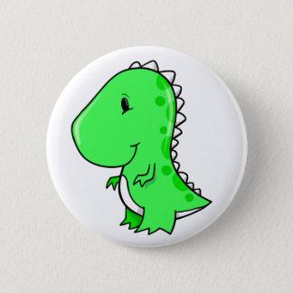 Bóton Redondo 5.08cm Botão pequeno bonito super do dinossauro