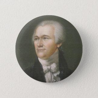Bóton Redondo 5.08cm Botão pequeno de Alexander Hamilton