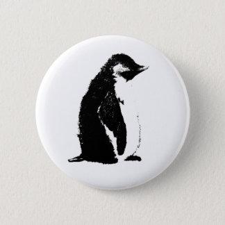 Bóton Redondo 5.08cm Botão perfeito do pinguim