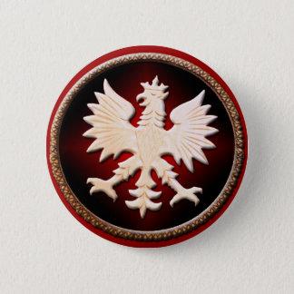 Bóton Redondo 5.08cm Botão polonês de Eagle
