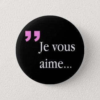 Bóton Redondo 5.08cm Botão preto francês de JE VOUS AIME