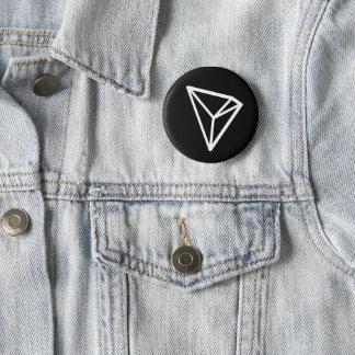 Bóton Redondo 5.08cm Botão preto padrão de Tron TRX