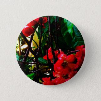 Bóton Redondo 5.08cm Botão redondo da flor cor-de-rosa