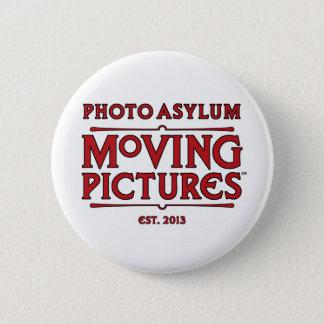 Bóton Redondo 5.08cm Botão redondo das imagens moventes do asilo da