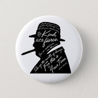 Bóton Redondo 5.08cm Botão redondo de Churchill