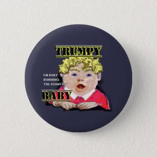 Bóton Redondo 5.08cm Botão redondo do bebê de Trumpy