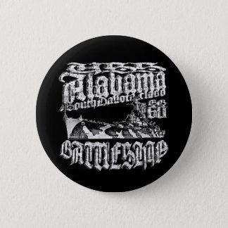 Bóton Redondo 5.08cm Botão redondo do botão de Alabama da navio de